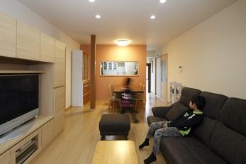 適度な減築を施して「思い出」と「暮らし」を両立した家